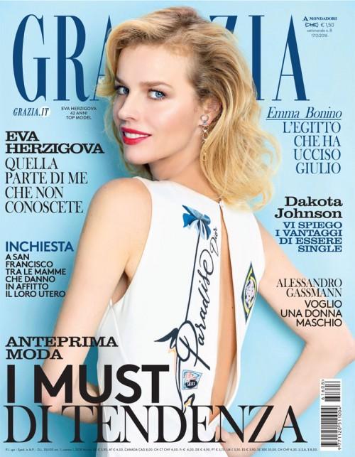 cover Grazia 80