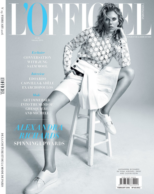 L'Officiel, Feb. 2016