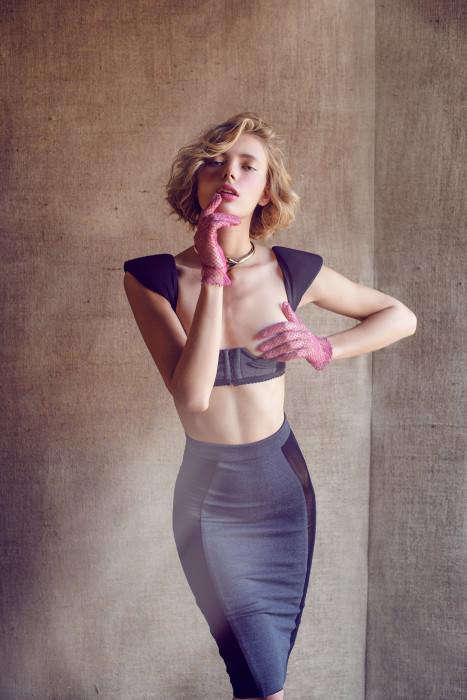 Ziggy Bra, Half Moon Spanking Skirt